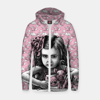 Thumbnail image of PAULA  Zip up hoodie, Live Heroes