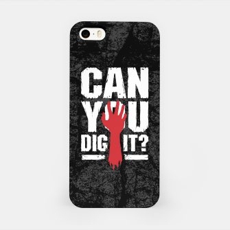 Thumbnail image of Can You Dig It? Funny Zombie Halloween iPhone Case, Live Heroes