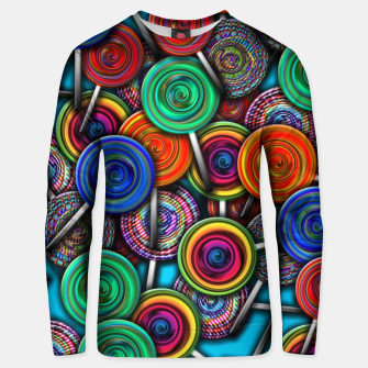 Thumbnail image of Colorful Lollipops Unisex sweater, Live Heroes