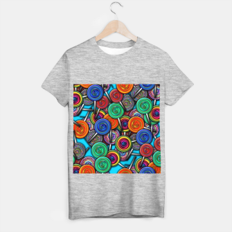 Thumbnail image of Colorful Lollipops T-shirt regular, Live Heroes