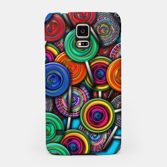 Thumbnail image of Colorful Lollipops Samsung Case, Live Heroes