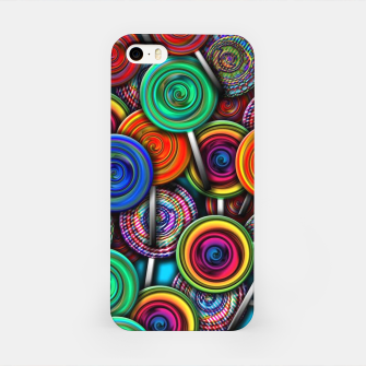 Thumbnail image of Colorful Lollipops iPhone Case, Live Heroes