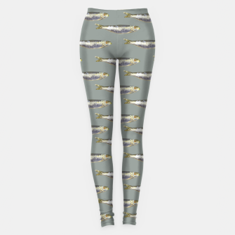 Thumbnail image of Anchovies Group Print Pattern Leggings, Live Heroes