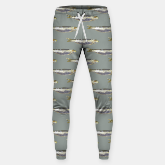 Thumbnail image of Anchovies Group Print Pattern Sweatpants, Live Heroes