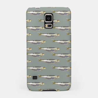 Thumbnail image of Anchovies Group Print Pattern Samsung Case, Live Heroes