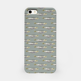Thumbnail image of Anchovies Group Print Pattern iPhone Case, Live Heroes