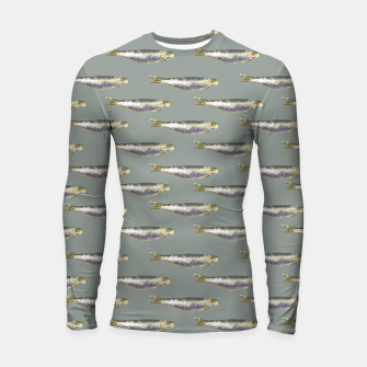 Thumbnail image of Anchovies Group Print Pattern Longsleeve rashguard , Live Heroes