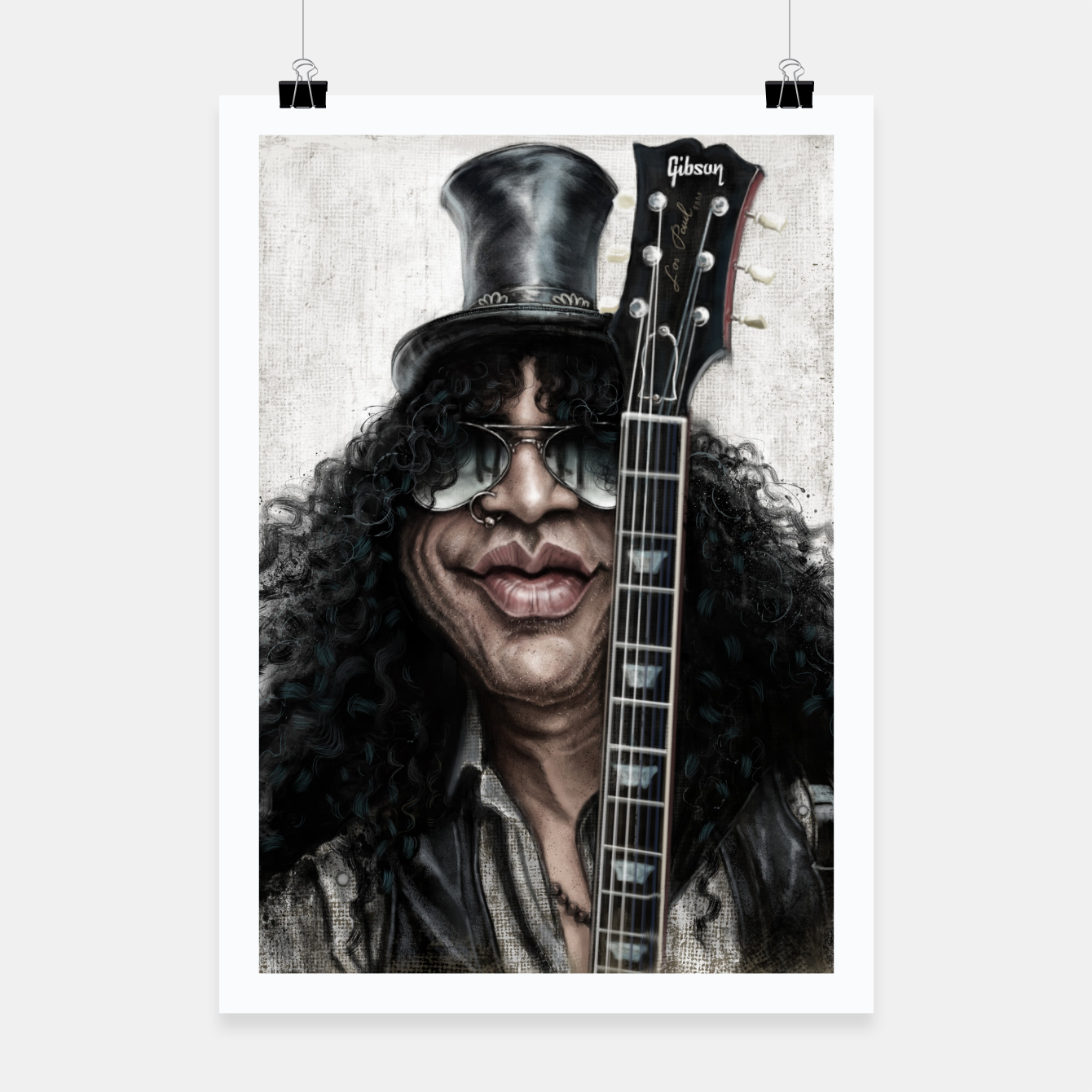 Image of Slash Poster - Live Heroes
