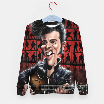 Thumbnail image of Elvis in Memphis Kid's sweater, Live Heroes