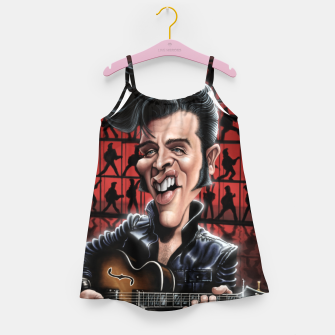Elvis in Memphis Girl's dress thumbnail image