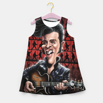Elvis in Memphis Girl's summer dress thumbnail image