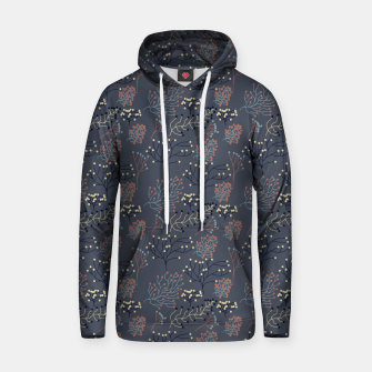 Miniaturka Blue and Earth tone Branches Hoodie, Live Heroes