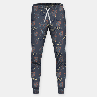 Miniaturka Blue and Earth tone Branches Sweatpants, Live Heroes