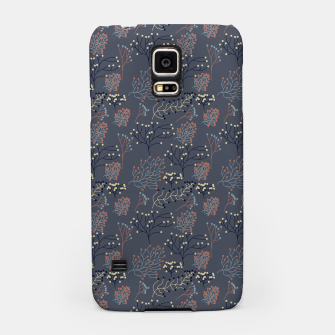 Miniaturka Blue and Earth tone Branches Samsung Case, Live Heroes