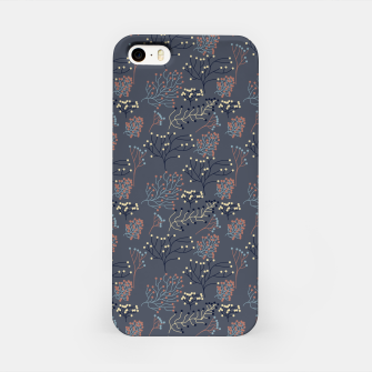 Miniaturka Blue and Earth tone Branches iPhone Case, Live Heroes