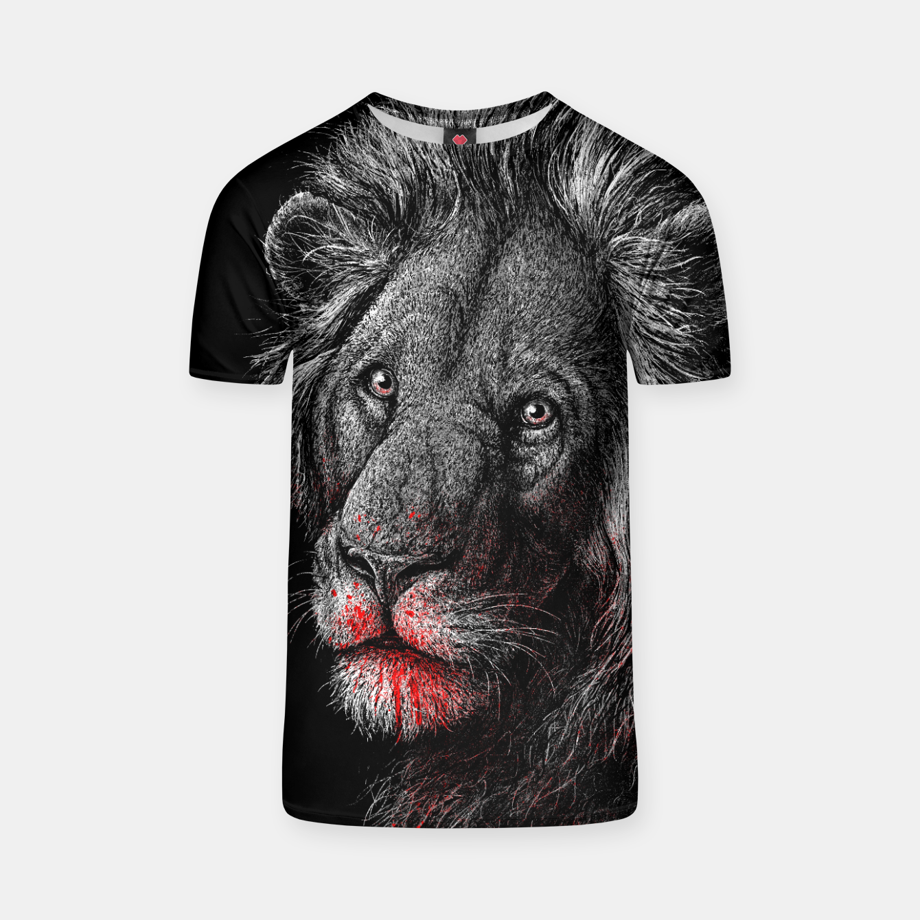 Image of PREDATOR (lion) T-shirt - Live Heroes
