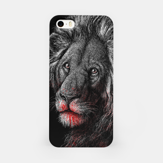 Thumbnail image of PREDATOR (lion) iPhone Case, Live Heroes