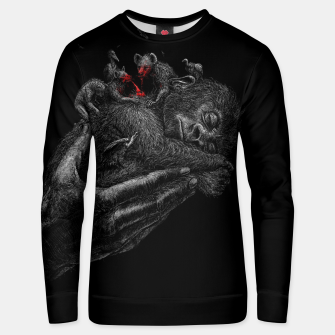 Thumbnail image of GORILLABABY Unisex sweater, Live Heroes