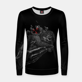 Thumbnail image of GORILLABABY Women sweater, Live Heroes