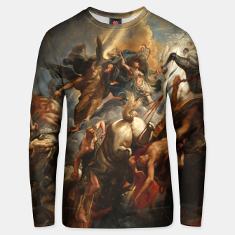 Thumbnail image of The Fall of Phaeton Unisex sweater, Live Heroes