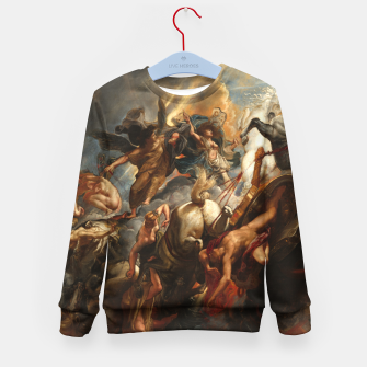 Thumbnail image of The Fall of Phaeton Kid's sweater, Live Heroes