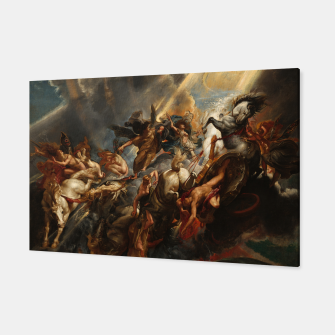 Thumbnail image of The Fall of Phaeton Canvas, Live Heroes