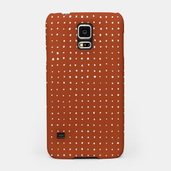 Thumbnail image of Light grey dots on rust Samsung Case, Live Heroes