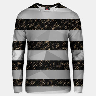 Thumbnail image of Polygon Stripes and Stars Unisex sweater, Live Heroes