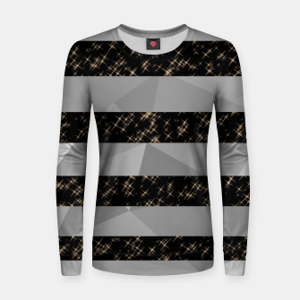 Thumbnail image of Polygon Stripes and Stars Women sweater, Live Heroes