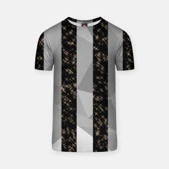 Thumbnail image of Polygon Stripes and Stars T-shirt, Live Heroes
