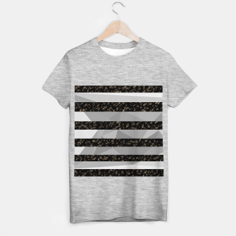 Thumbnail image of Polygon Stripes and Stars T-shirt regular, Live Heroes