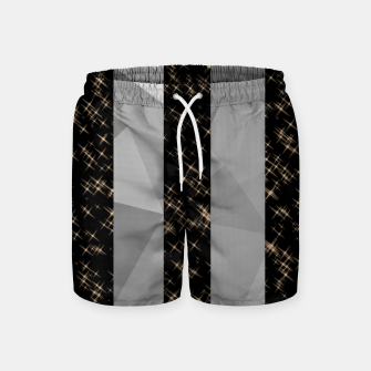Thumbnail image of Polygon Stripes and Stars Swim Shorts, Live Heroes