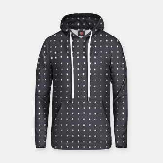 Thumbnail image of Light grey dots on grey Hoodie, Live Heroes