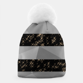 Thumbnail image of Polygon Stripes and Stars Beanie, Live Heroes