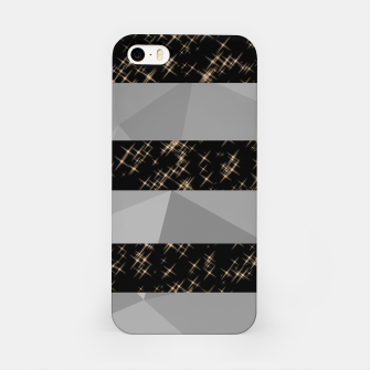 Thumbnail image of Polygon Stripes and Stars iPhone Case, Live Heroes