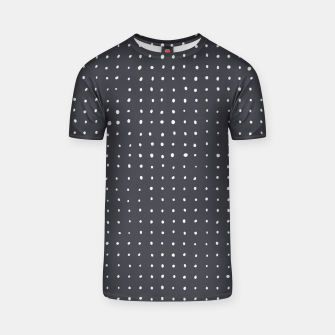 Thumbnail image of Light grey dots on grey T-shirt, Live Heroes