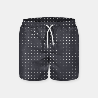 Thumbnail image of Light grey dots on grey Swim Shorts, Live Heroes