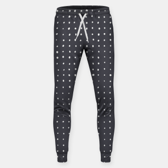 Thumbnail image of Light grey dots on grey Sweatpants, Live Heroes