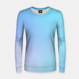 Thumbnail image of Sky Blue Women sweater, Live Heroes