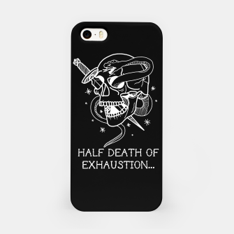 Thumbnail image of HALF DEATH OF EXHAUSTION Carcasa por Iphone, Live Heroes