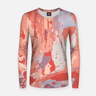 Miniatur Autumn Colors Abstract Design  Women sweater, Live Heroes
