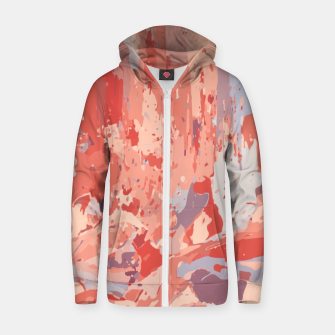 Thumbnail image of Autumn Colors Abstract Design  Zip up hoodie, Live Heroes