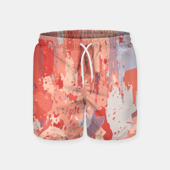 Thumbnail image of Autumn Colors Abstract Design  Swim Shorts, Live Heroes
