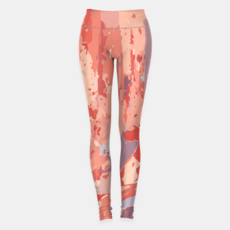 Thumbnail image of Autumn Colors Abstract Design  Leggings, Live Heroes