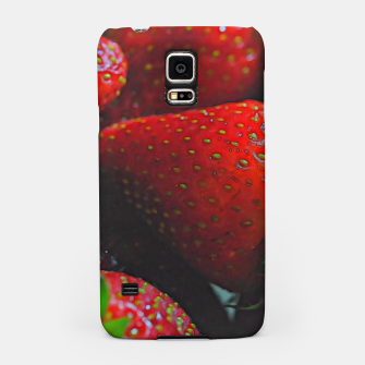 Thumbnail image of Strawberries Samsung Case, Live Heroes