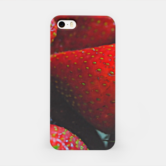 Thumbnail image of Strawberries iPhone Case, Live Heroes