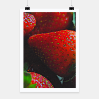 Thumbnail image of Strawberries Poster, Live Heroes