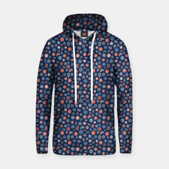 Thumbnail image of Flower Power in Blue  Hoodie, Live Heroes