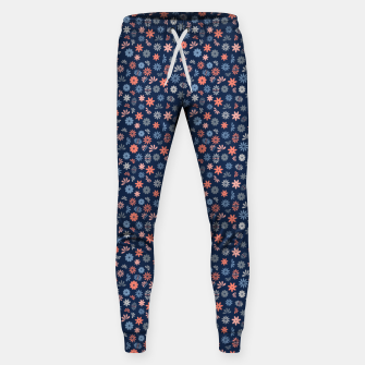 Thumbnail image of Flower Power in Blue  Sweatpants, Live Heroes