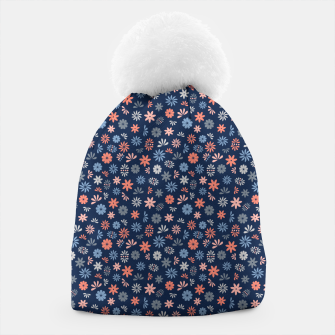 Thumbnail image of Flower Power in Blue  Beanie, Live Heroes